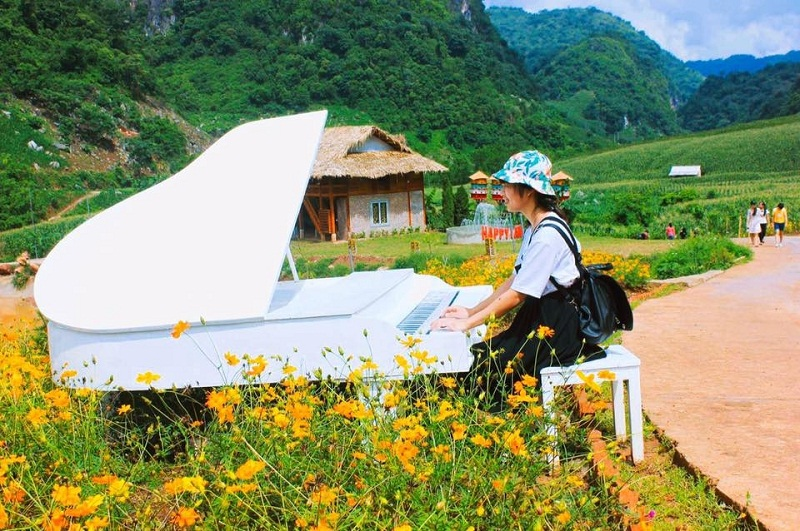 Kinh nghiệm du lịch Mộc châu tham quan khu du lịch Happy Land mới nhất